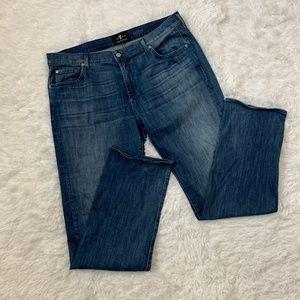 7 FAM Austyn Luxe Medium Wash Size 40 Jeans